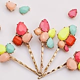 Jeweled Bobby Pins