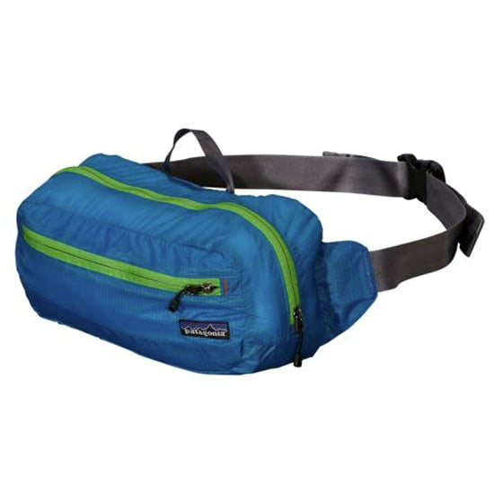 For a lightweight option to hit the trails, the Patagonia Lightweight Travel Hip Pack ($39) offers easy access and just enough compartments so you know where to find all your goods.