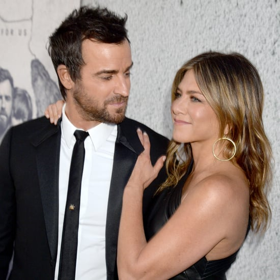 Jennifer Aniston and Justin Theroux at Leftovers Premiere