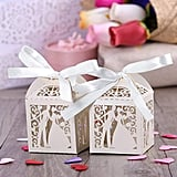 Wedding Favor Ribbon Candy Boxes