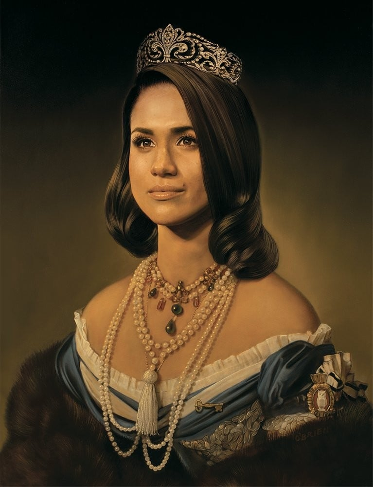 Where to Buy Meghan Markle Queen Portrait