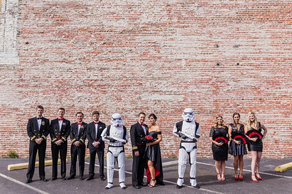 Glam Star Wars Wedding Ideas