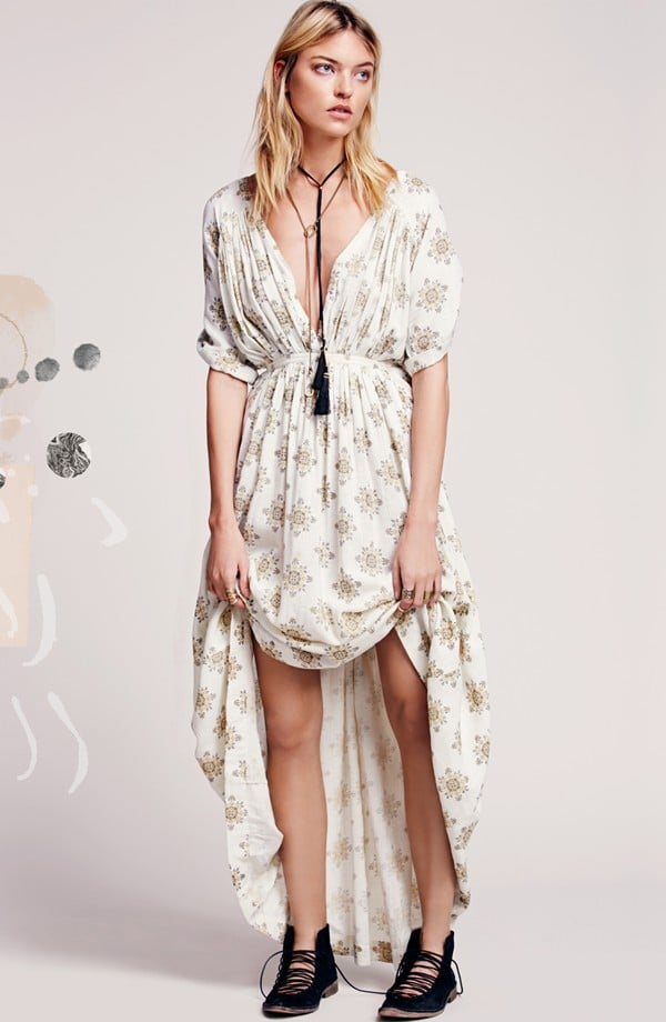 "Free People ""Oasis"" print maxi dress ($168)"