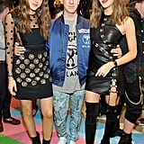 With Moschino Designer Jeremy Scott