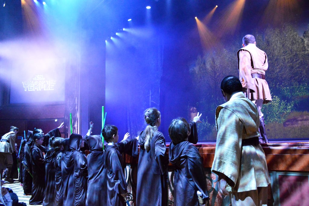 Let your kids participate in Jedi Training: Trials of the Temple.