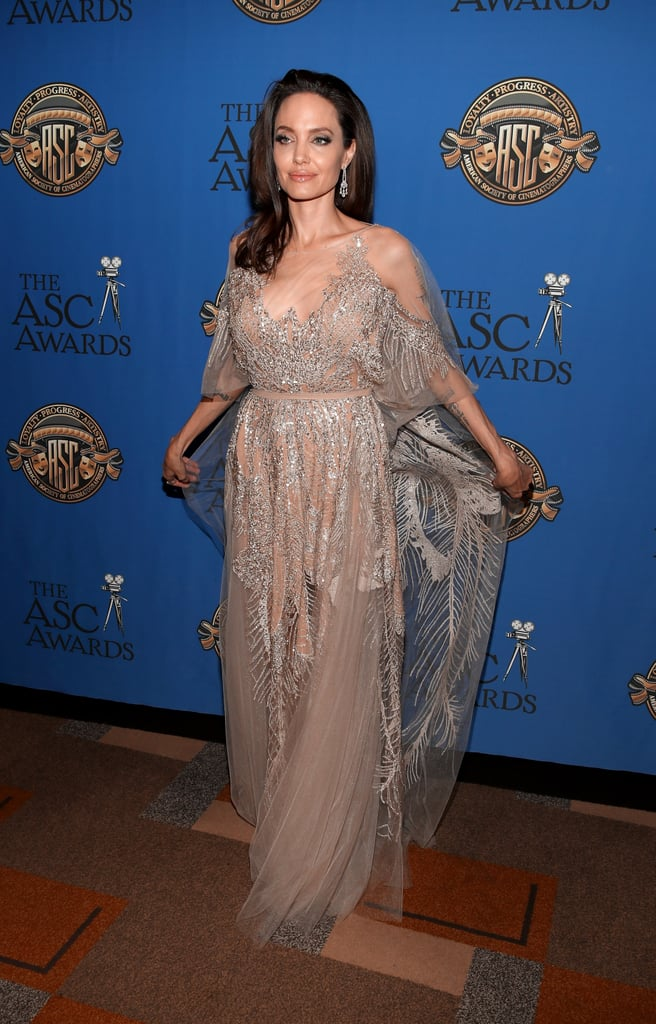 Angelina Jolie's Elie Saab Couture Dress