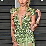 Paris Jackson's Versace Dress at Oscars Afterparty 2018
