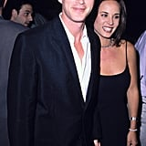 Cary Elwes and Lisa Marie at the The Mask Premiere in 1994