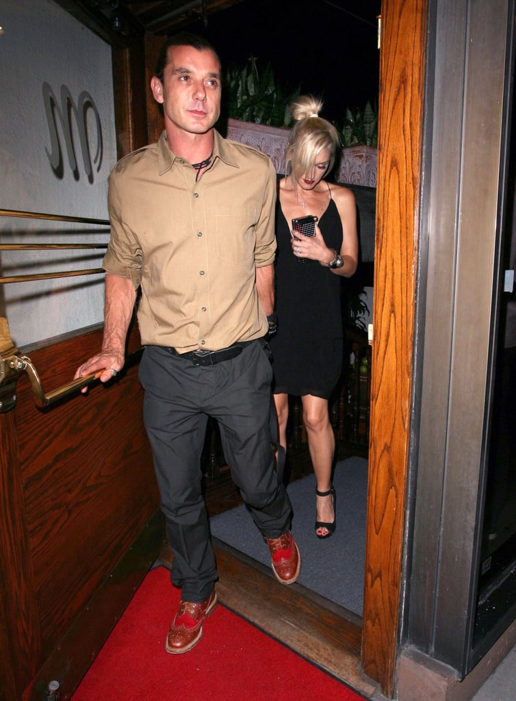 Gwen Stefani and Gavin Rossdale dined at Madeo.
