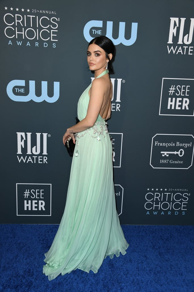 Lucy Hale at the 2020 Critics' Choice Awards