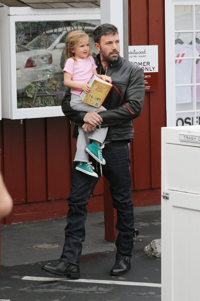 Seraphina and Ben Affleck had breakfast together in LA.