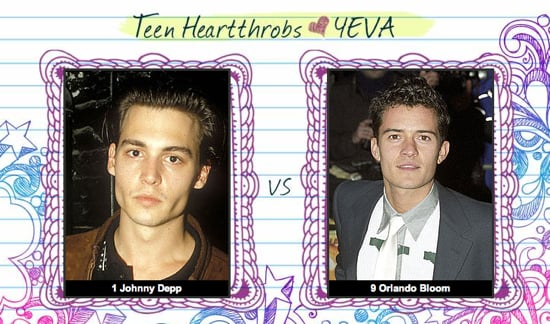 Teen Heartthrob Bracket Finals: Johnny Depp vs. Orlando Bloom