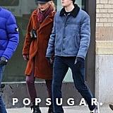Taylor Swift and Joe Alwyn in NYC in Dec. 2018