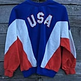 Etsy 83vintageshop Vintage Adidas USA Olympic Team Sweatshirt