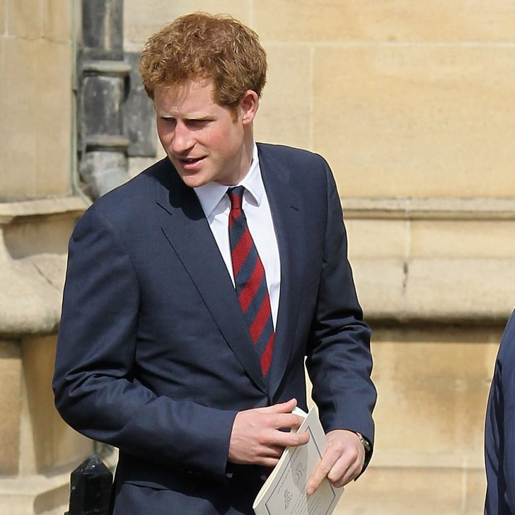 Prince Harry Pictures With Queen Elizabeth At Mass
