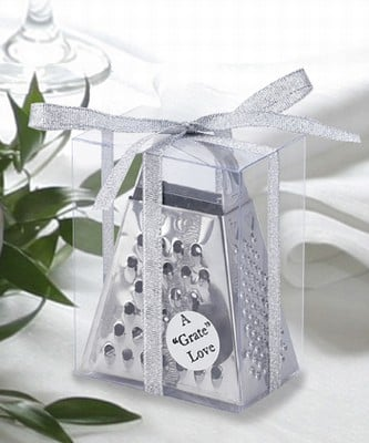 """You'll have the """"gratest"""" wedding with this cheese grater."""