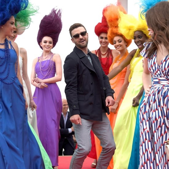 Justin Timberlake at Trolls Photocall in Cannes 2016