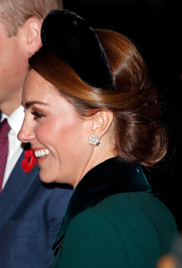 Kate Middleton's Oversized Velvet Alice Band, 2018