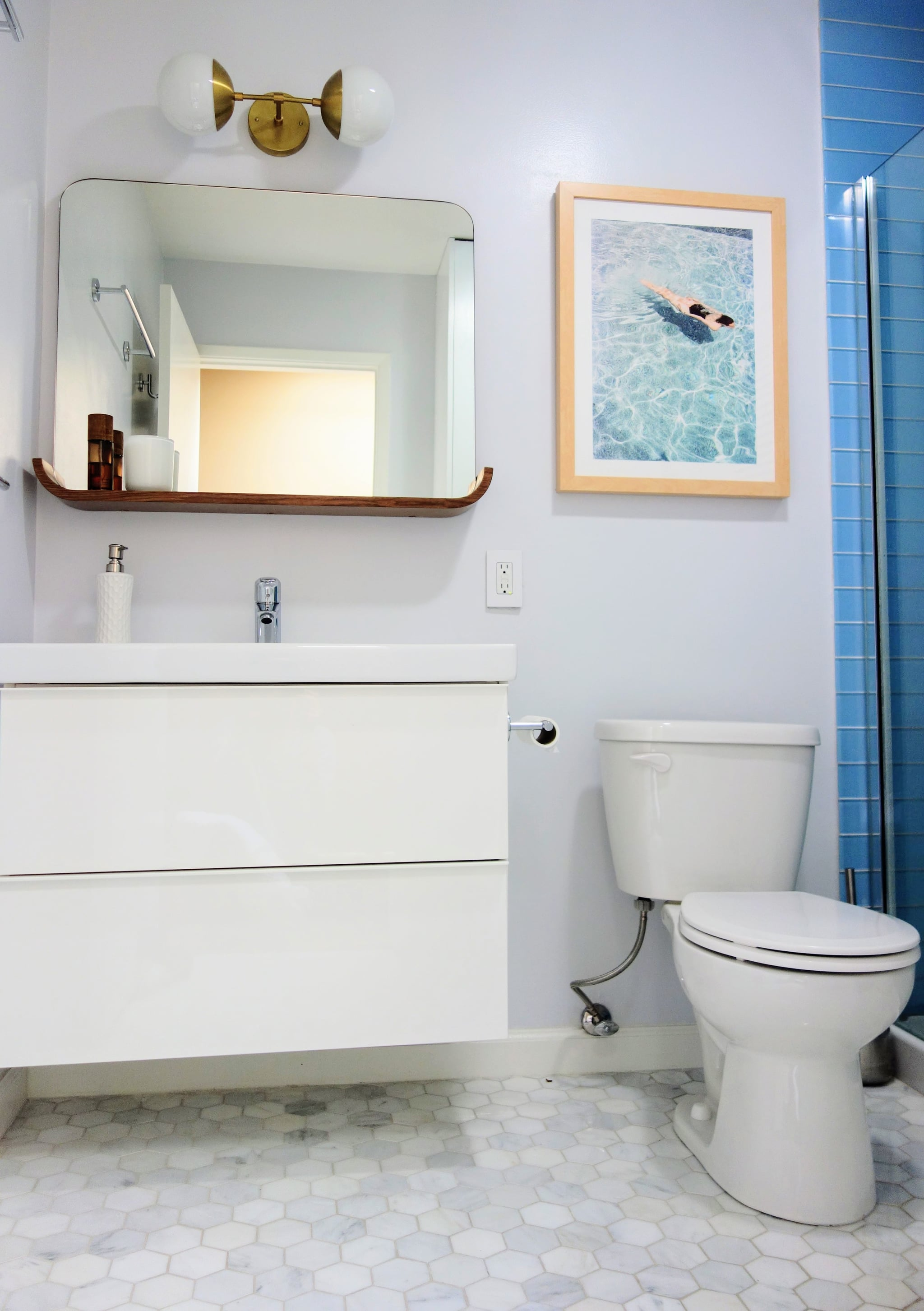 Bathroom updates for resale popsugar home for Small bathroom upgrade ideas