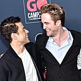 Rami Malek and Robert Pattinson