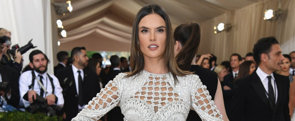 Alessandra Ambrosio Shows She Is the Queen of the Balmain Army at the Met Gala