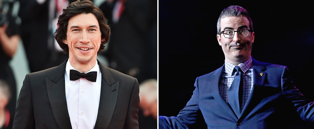Adam Driver Confronts John Oliver About His Thirst Bit
