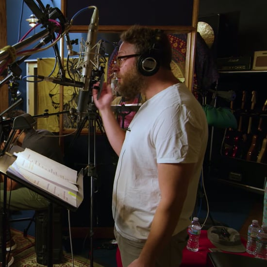 Watch Pharrell Coach Seth Rogen in The Lion King Video