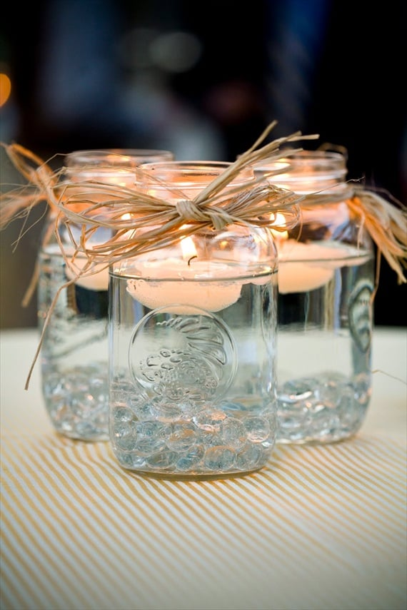Mason Jar Centerpieces Diy Wedding And Ceremony Decor Pictures
