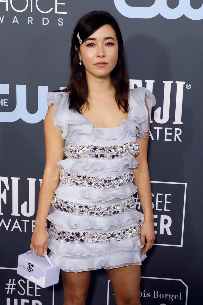 Maya Erskine at the 2020 Critics' Choice Awards