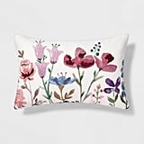 Get the Look: Floral Throw Pillow