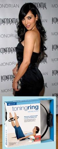 Kim Kardashian Tones With a Toning Ring