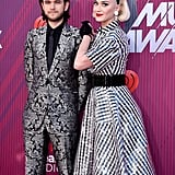 Pictured: Zedd and Katy Perry