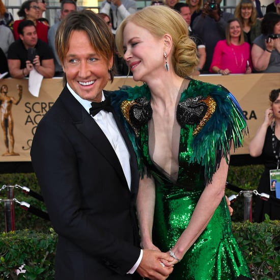 Nicole Kidman and Keith Urban at the 2017 SAG Awards