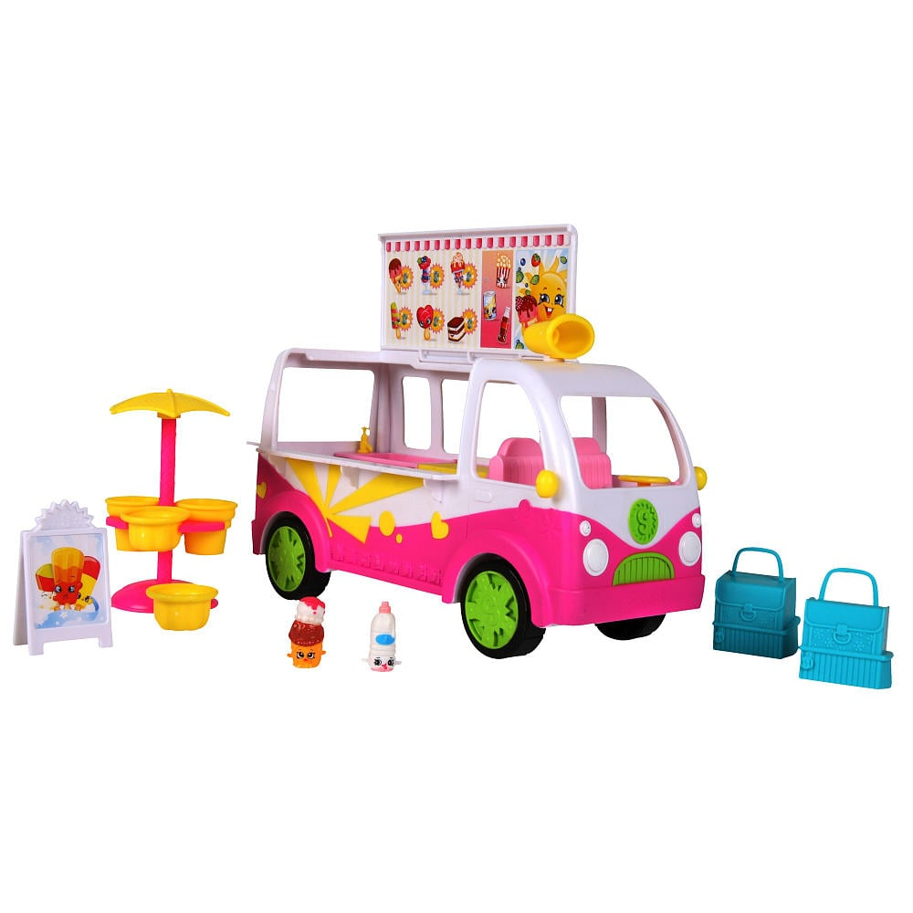 Shopkins Season 3 Scoops Ice-Cream Truck Playset
