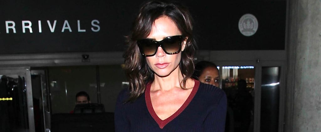 This Rare Sighting of Victoria Beckham in Skinny Jeans Will Make You Do a Double Take