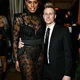 Laverne Cox and Kyle Draper