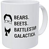Bears. Beets. Battlestar Galactica. Mug