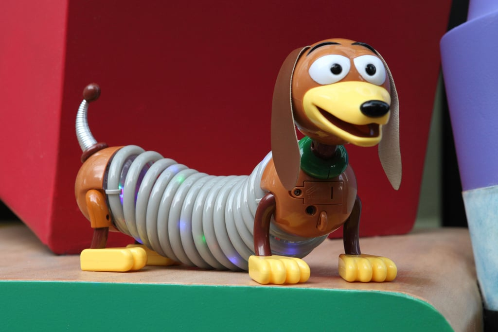 Slinky Dog light-up toy that will be available for purchase.