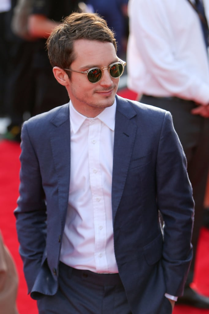 Elijah Wood attended the world premiere of The Hobbit: An Unexpected Journey.
