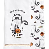 Set of Two Happy Meow O Ween Kitchen Towels