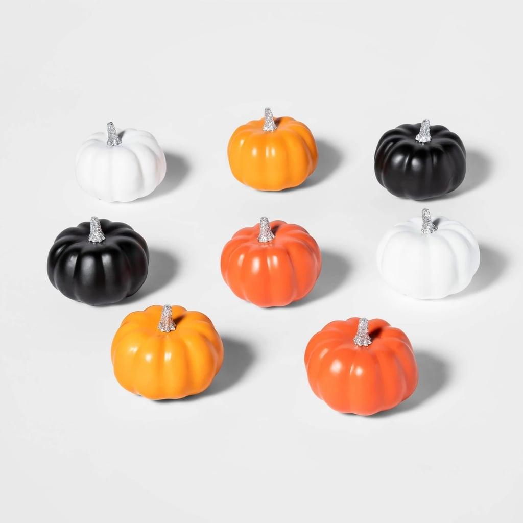 Mini Painted Halloween Pumpkins