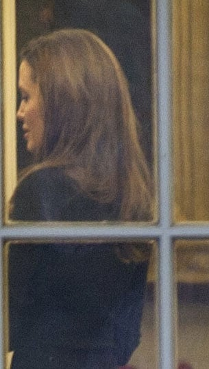 Angelina Jolie paid a visit to the White House.