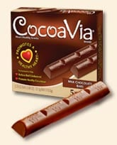 "I ""Heart"" Chocolate: CocoaVia Bars"