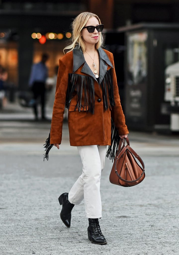 How to Wear Suede: A Fringe Jacket