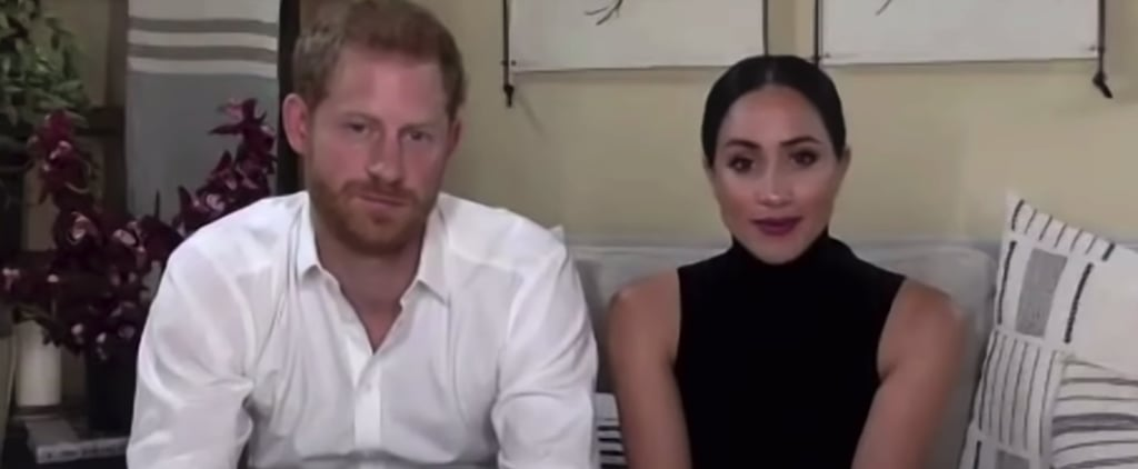 Meghan Markle Wore Black Turtleneck For Day of the Girl Talk