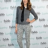Jessica Alba attended a Lucky event.