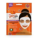 Yes To Carrots Single Use Vitamin-Enriched Paper Mask