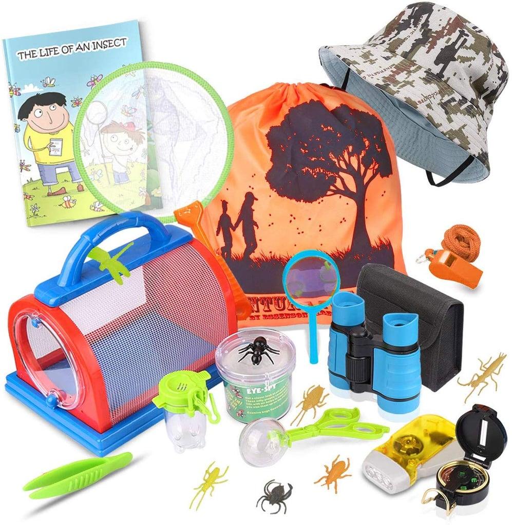 For 9-Year-Olds: Outdoor Explorer Kit & Bug Catcher Kit