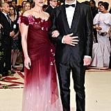 Scarlett Johansson and Colin Jost at 2018 Met Gala Photos