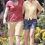 Pictures of Michelle Williams and Sarah Silverman